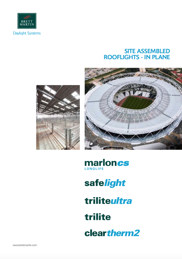 Site Assembled Rooflights In Plane Brochure
