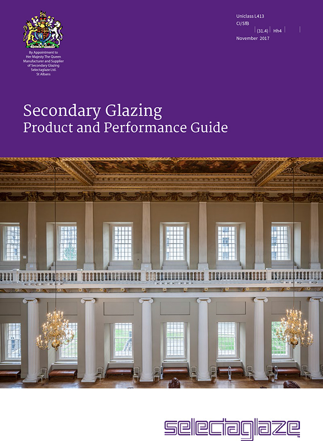 Secondary Glazing - Product and Performance Guide Brochure