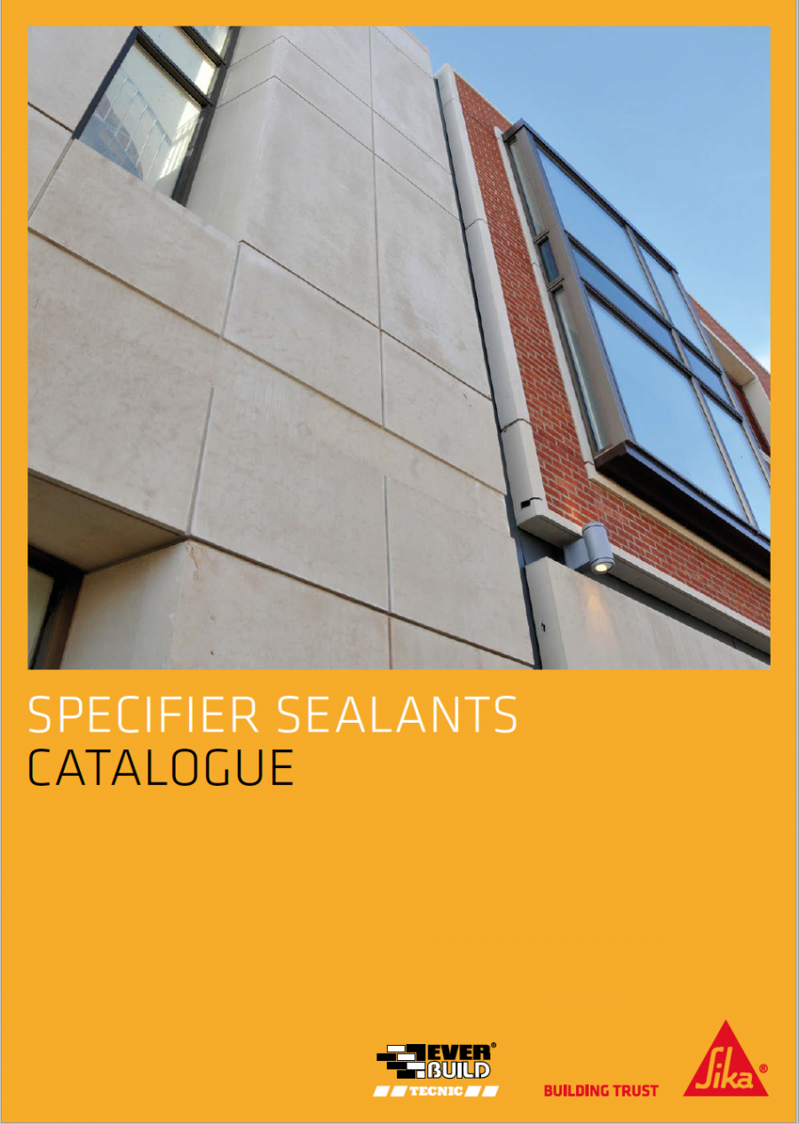 Specifier Sealants Catalogue Brochure