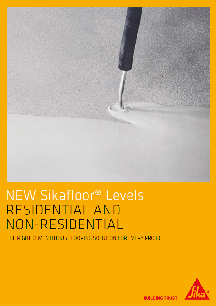 New SikaFloor® levels residential and non-residential