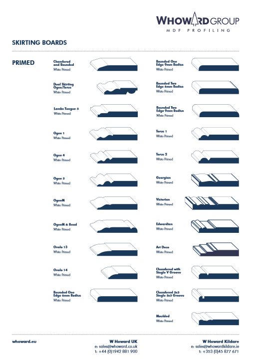Skirting Boards Brochure
