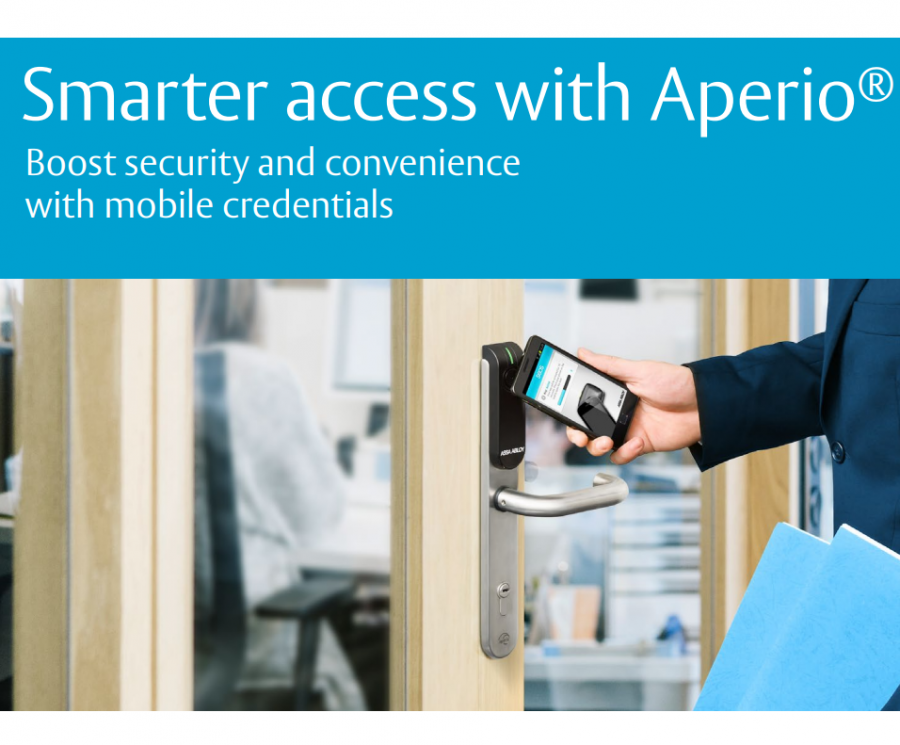 Smarter access with Aperio® Brochure