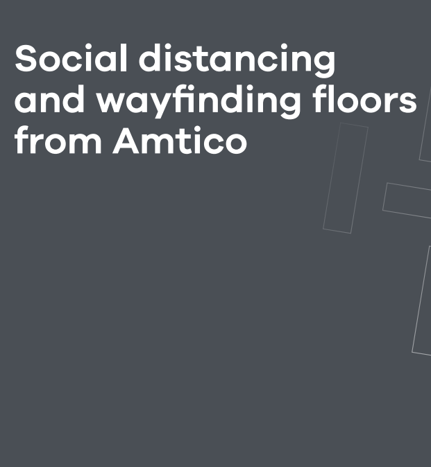 Amtico Social distancing and wayfinding floors  Brochure
