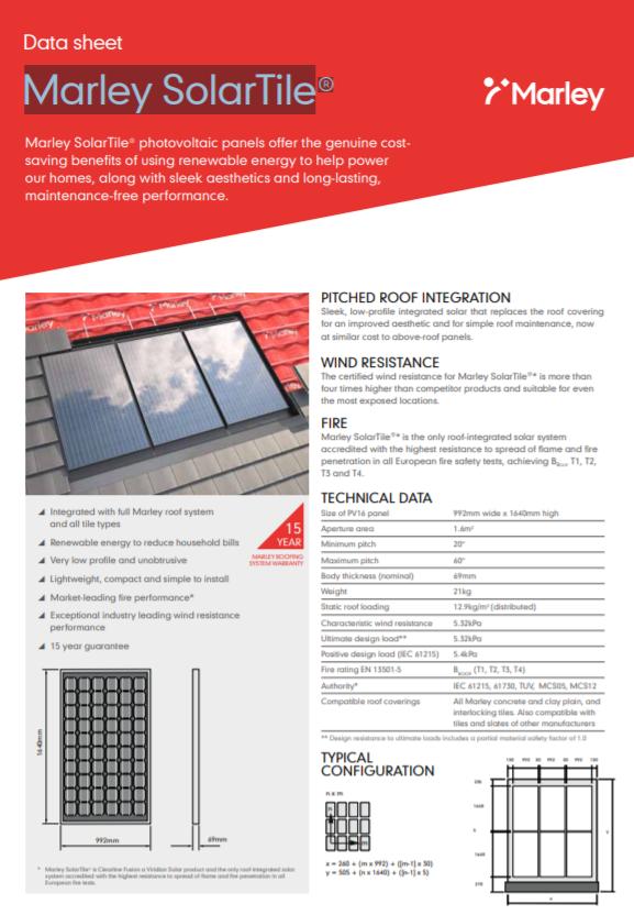 Marley SolarTile® Brochure