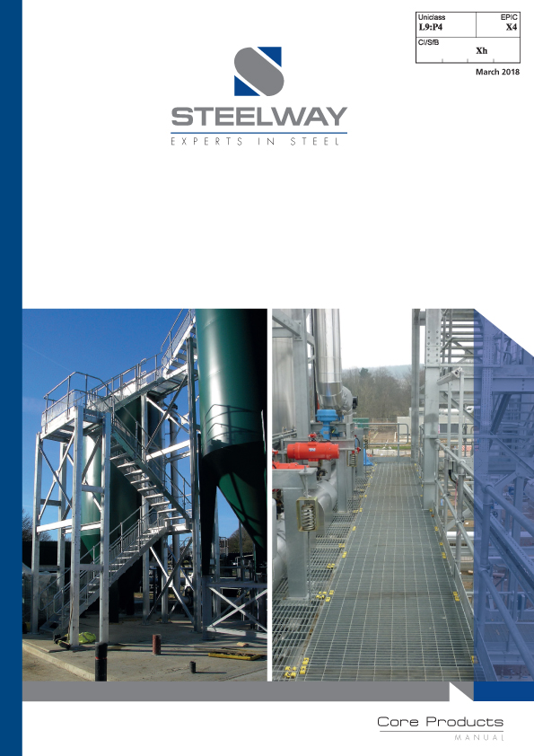 Steelway Core Products Brochure