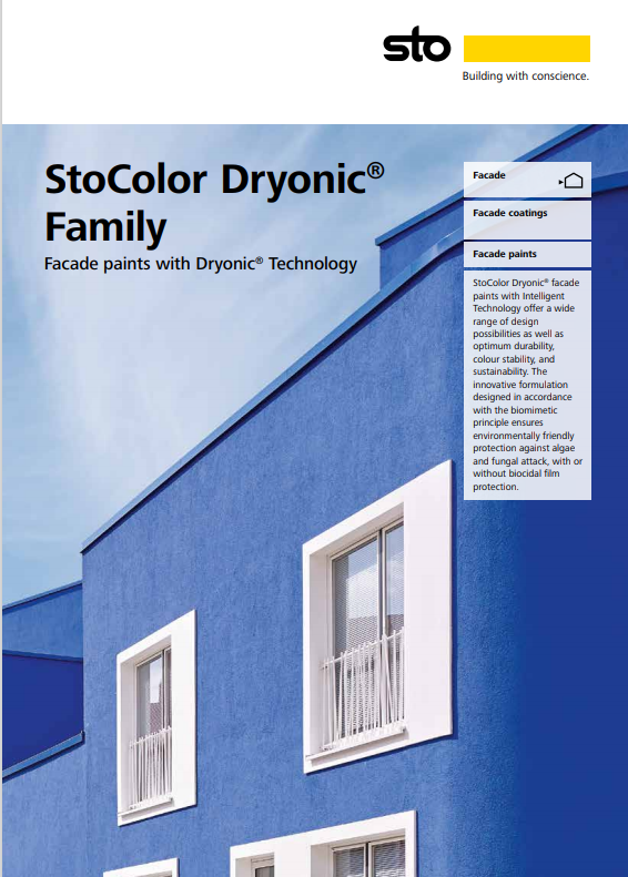StoColor Dryonic® Family Brochure