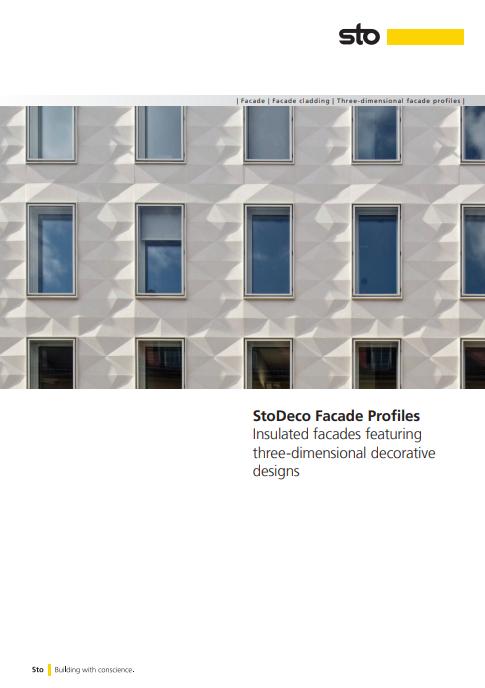 StoDeco Facade Profiles Brochure