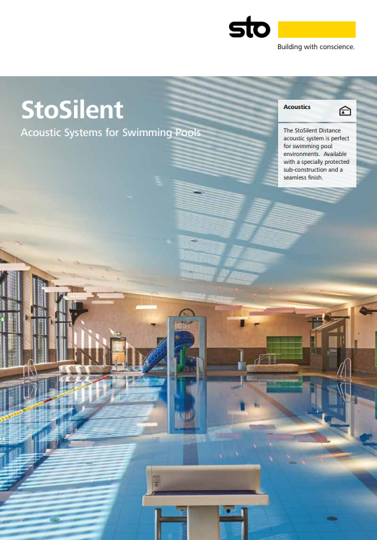StoSilent Acoustic Systems Brochure