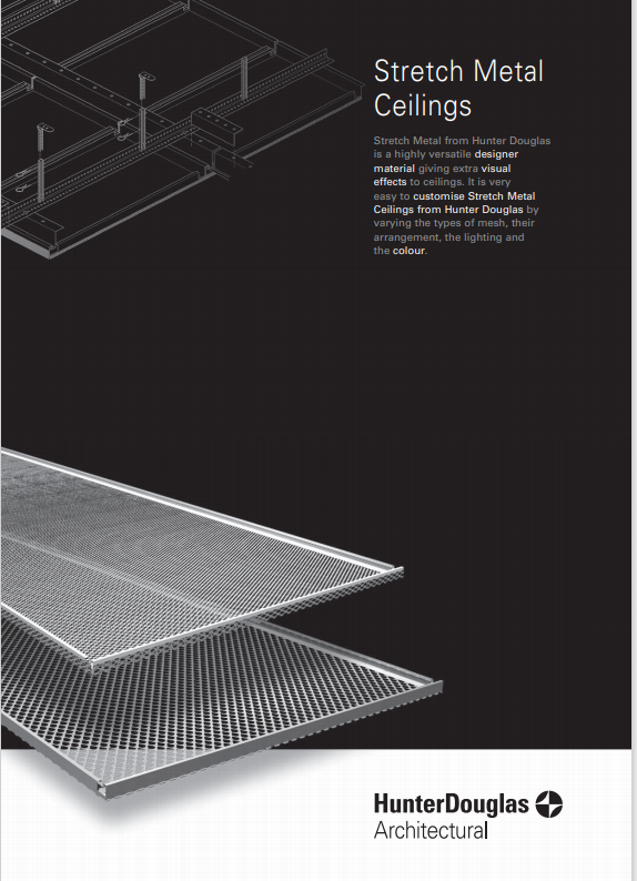 Stretch Metal Ceilings Brochure