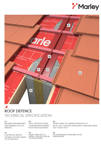 ROOF DEFENCE TECHNICAL SPECIFICATION Brochure