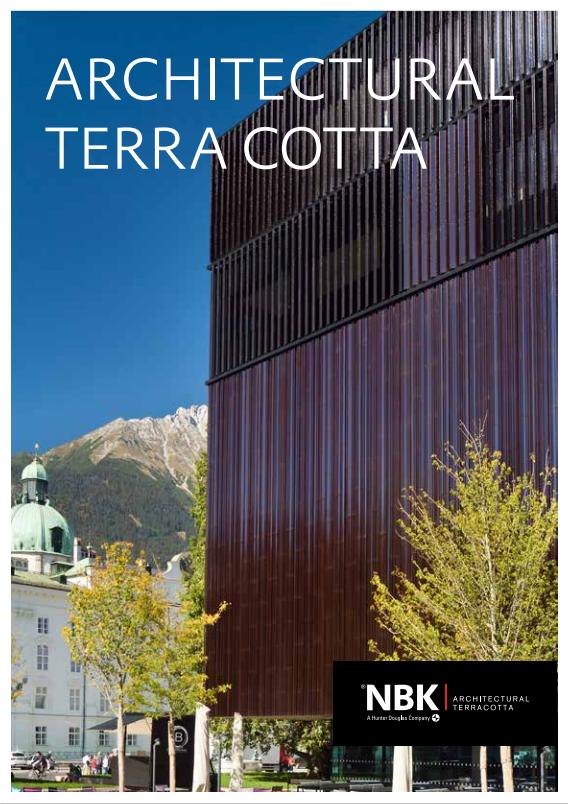 Architectural Terra Cotta  Brochure