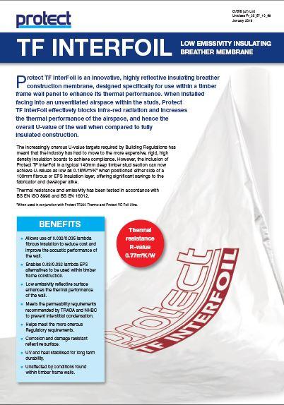 TF InterFoil leaflet Brochure