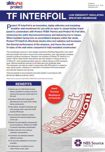 Protect TF InterFoil leaflet Brochure
