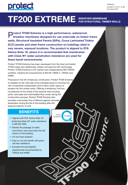 TF200® Extreme  Brochure
