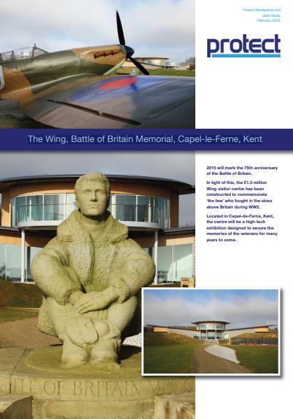 The  Wing, Battle of Britain Memorial, Capel-le-Ferne, Kent Brochure