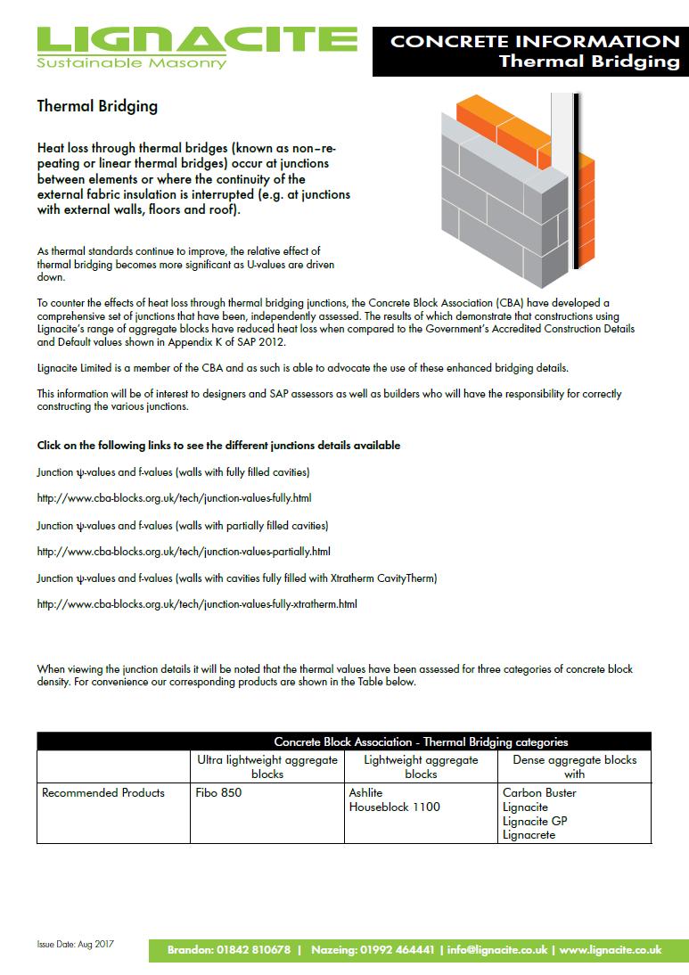 Thermal Bridging Brochure
