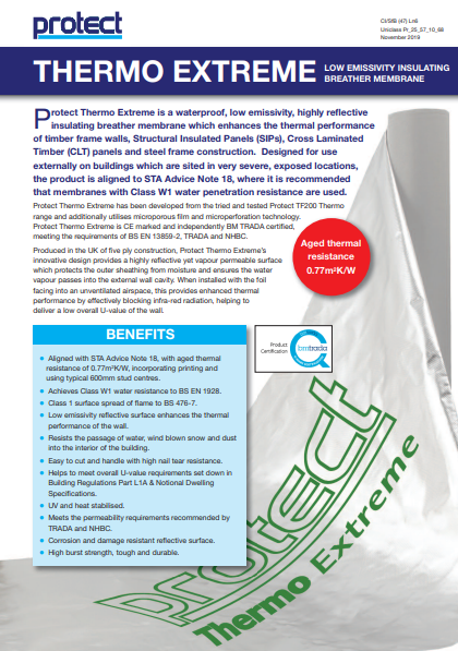 Thermo Extreme Brochure