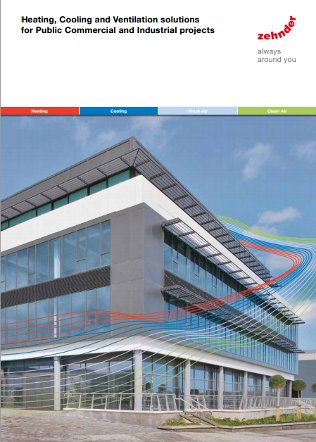 Heating, Cooling and Ventilation solutions for Public Commercial and Industrial projects Brochure