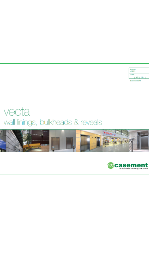 Vecta building linings Brochure