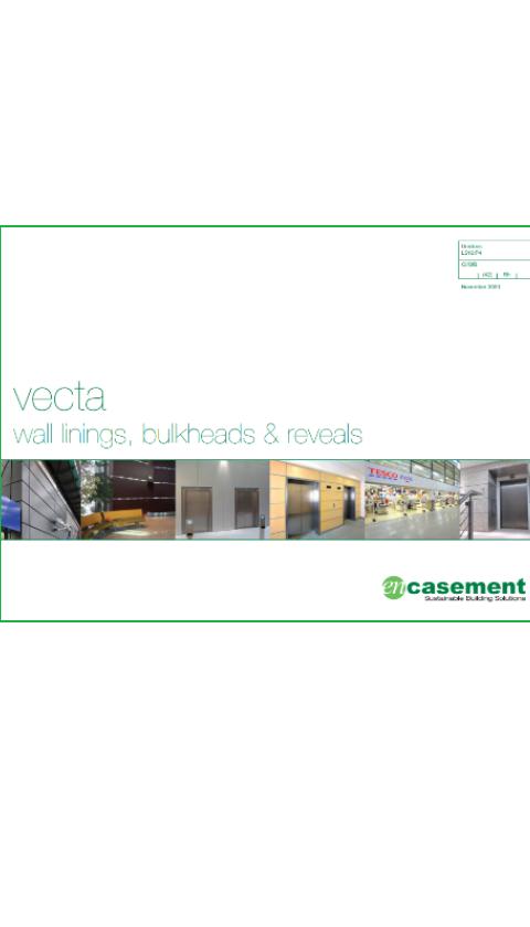 Vecta building linings Brochure