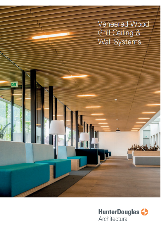 Veneered Wood Grill Ceiling & Wall Systems Brochure