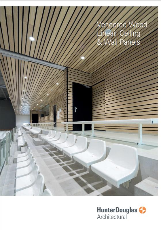 Veneered Wood Ceiling & Wall Panels Brochure