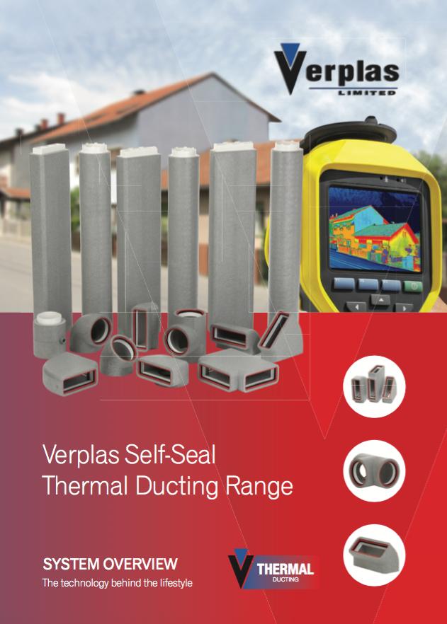 Verplas Self-Seal Thermal Ducting Range Brochure