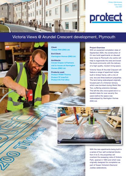 Victoria Views @ Arundel Crescent development, Plymouth Brochure