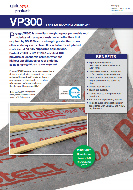 Glidevale Protect VP300 flyer Brochure