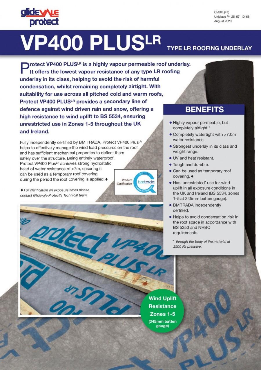Protect Membranes VP400 PLUS Brochure