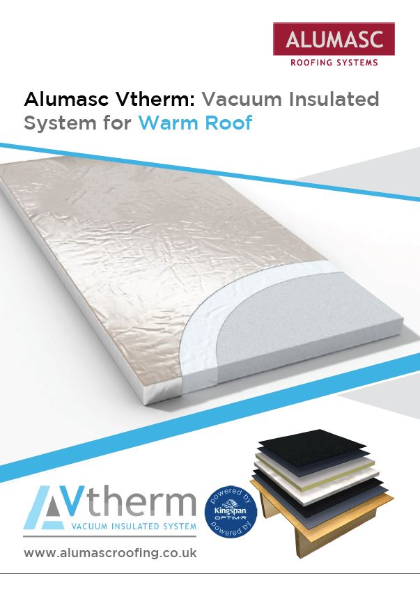 Vtherm Vacuum Insulated System - Warm Roof Brochure