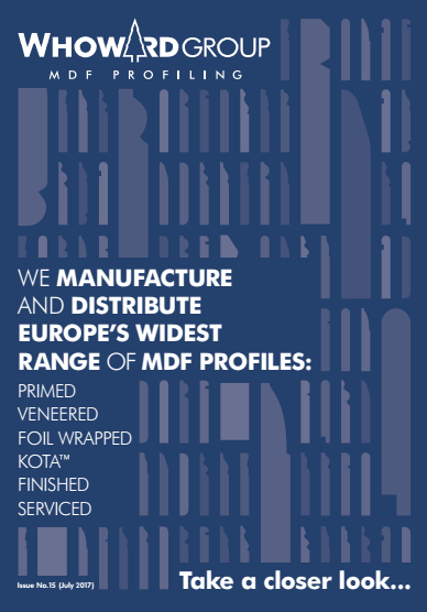 W.Howard MDF Profiling Brochure