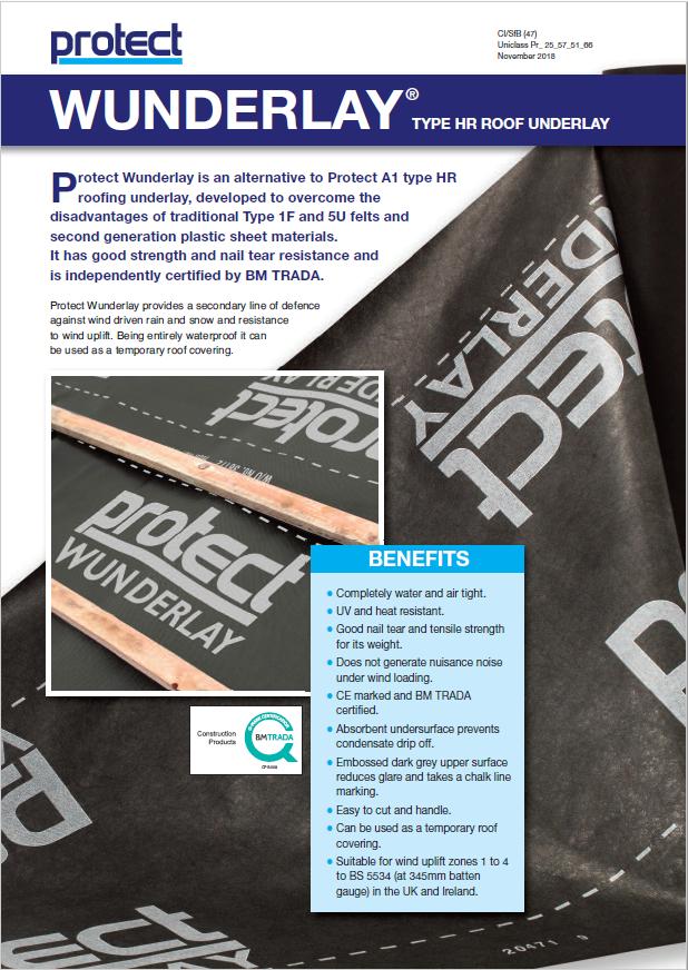 WUNDERLAY - Protect Membranes Brochure