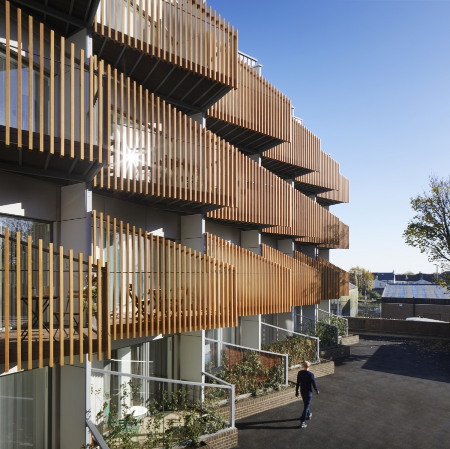 Accoya® specified for award-winning housing project by Alma