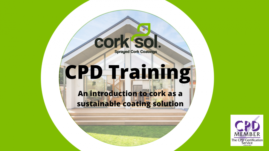 Corksol launches new CPD highlighting the sustainable benefits of cork-based coatings