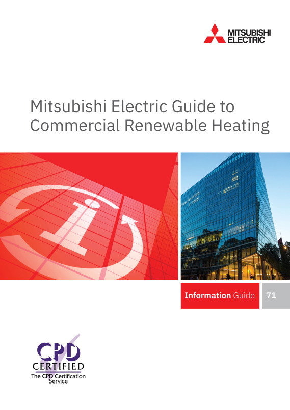 Mitsubishi Electric hosts CPD webinar on Renewable Commercial Heating