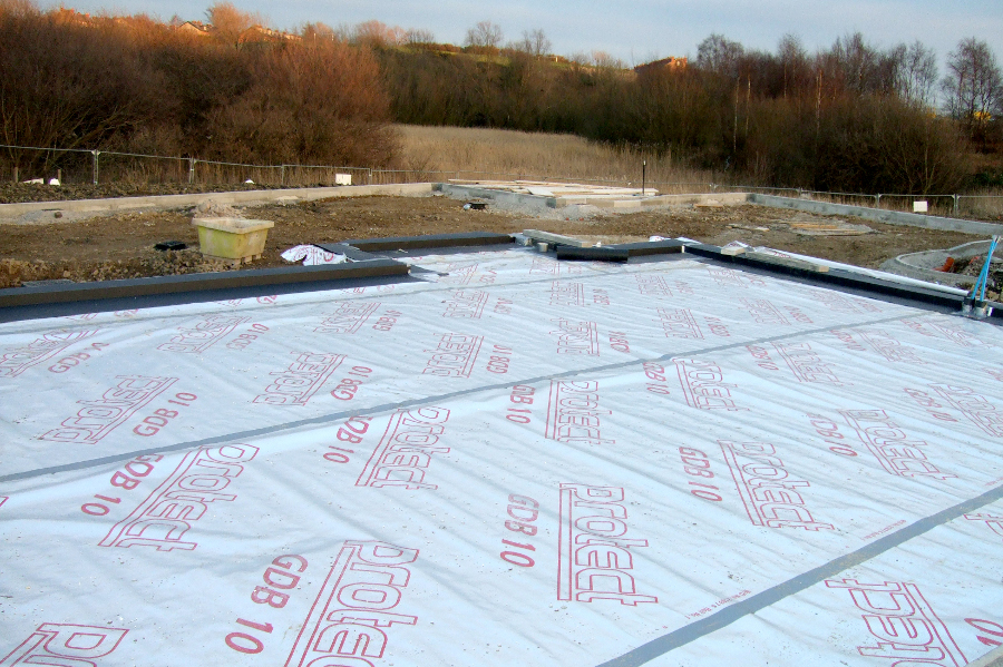 Glidevale Ground Floor Protection And Underfloor