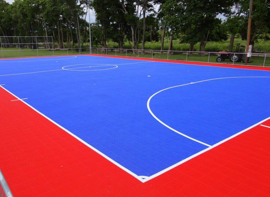 Gerflor sport court powergame gerflor products for How to build a sport court