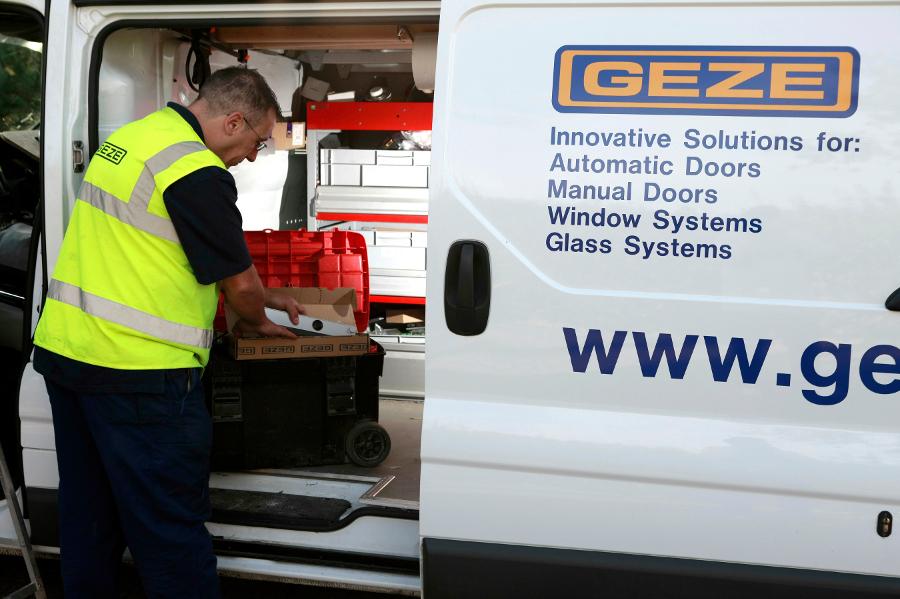 GEZE UK Ltd GEZE Service | Specification Building Product Directory | Specification Online & GEZE UK Ltd GEZE Service | Specification Building Product Directory ...