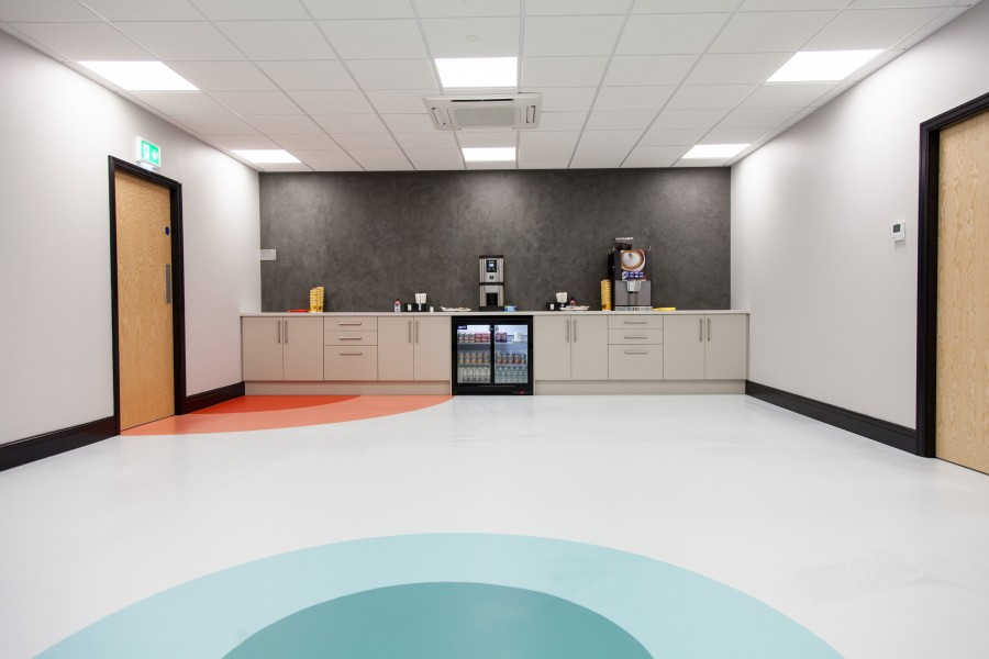Sika Flooring Sika uk and europe staff unite for creation of superb