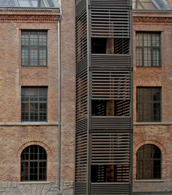 Open Structure Façades