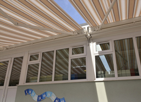 Zenith Folding Arm Awning