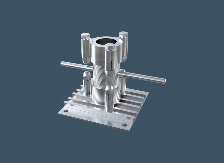 Aluminium Pedestals