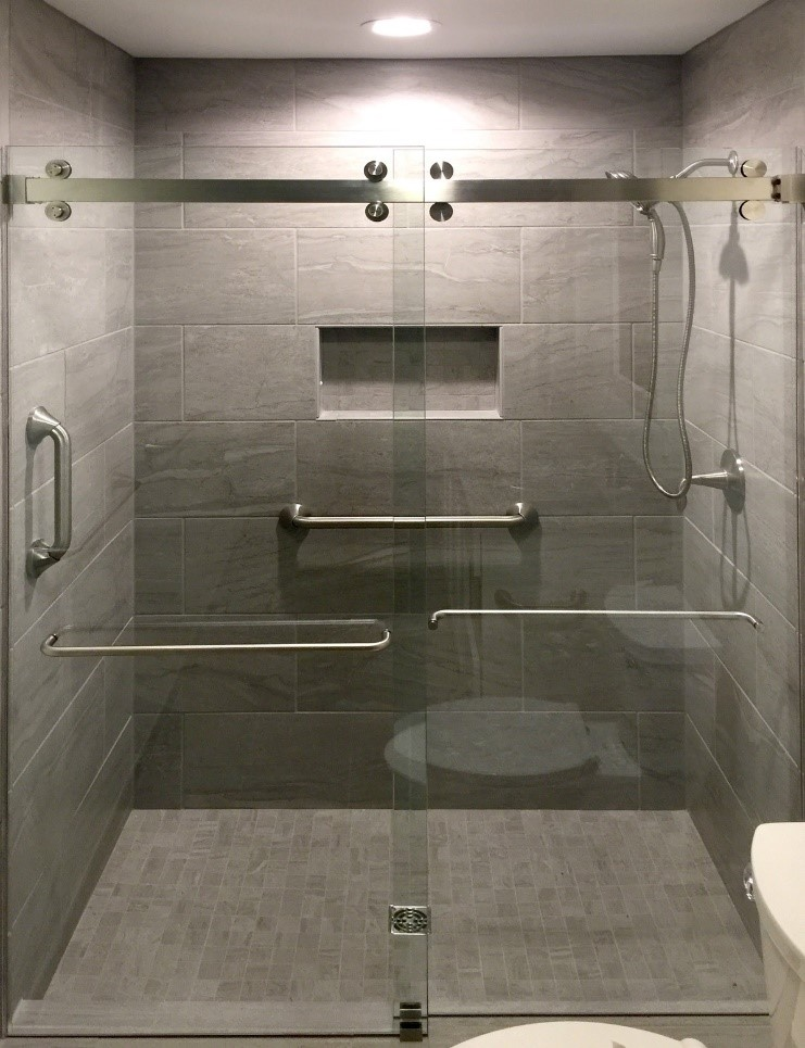 Sliding Shower Door System: Cambridge
