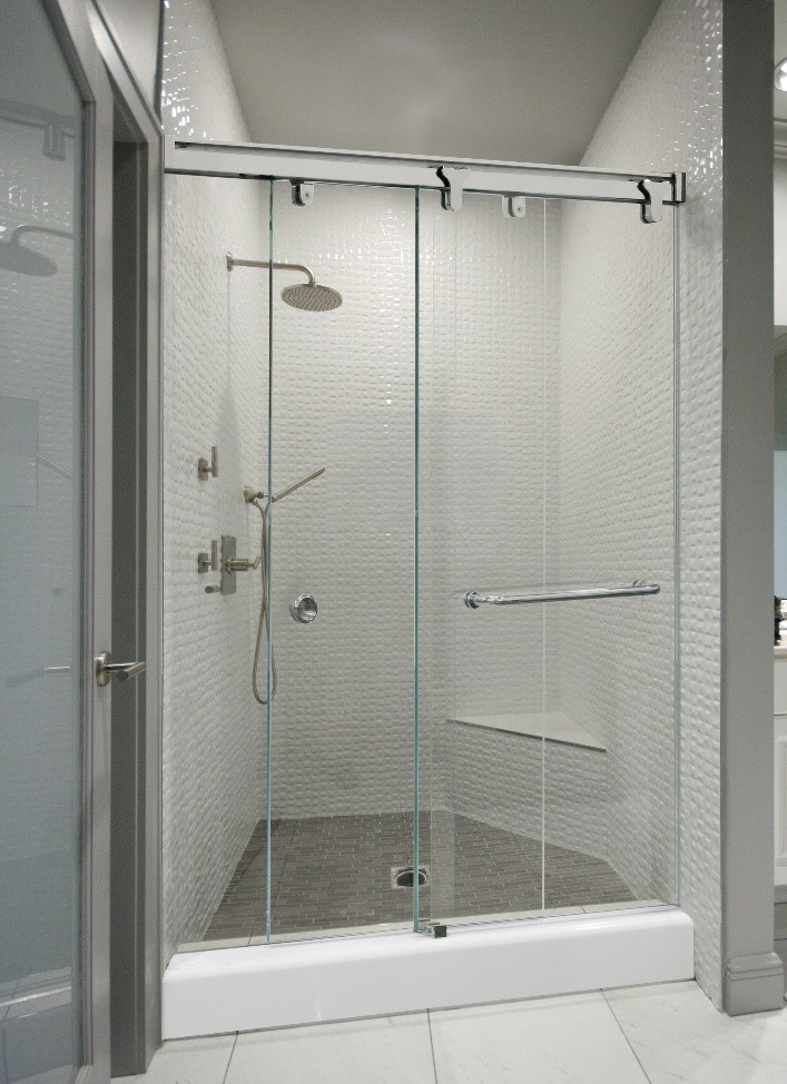 Sliding Shower Door System: Contempo