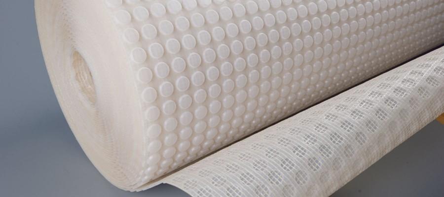 Sheet flooring membranes