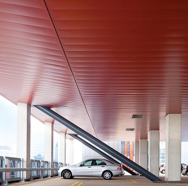 Exterior Metal Ceilings