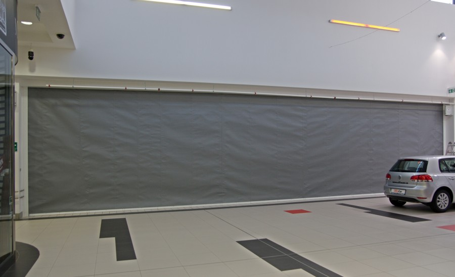 Fibreroll E180/EW120 Fire Curtains