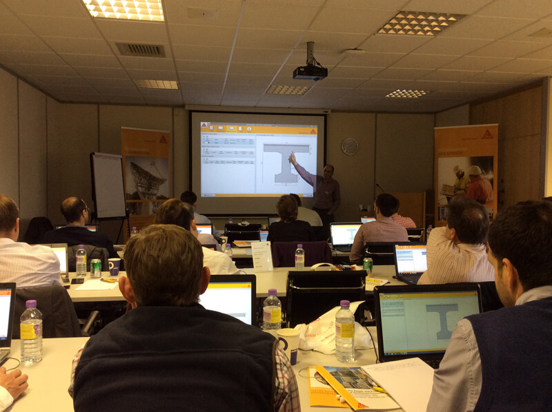 Sika delivers structural strengthening frp training  to leading construction engineers