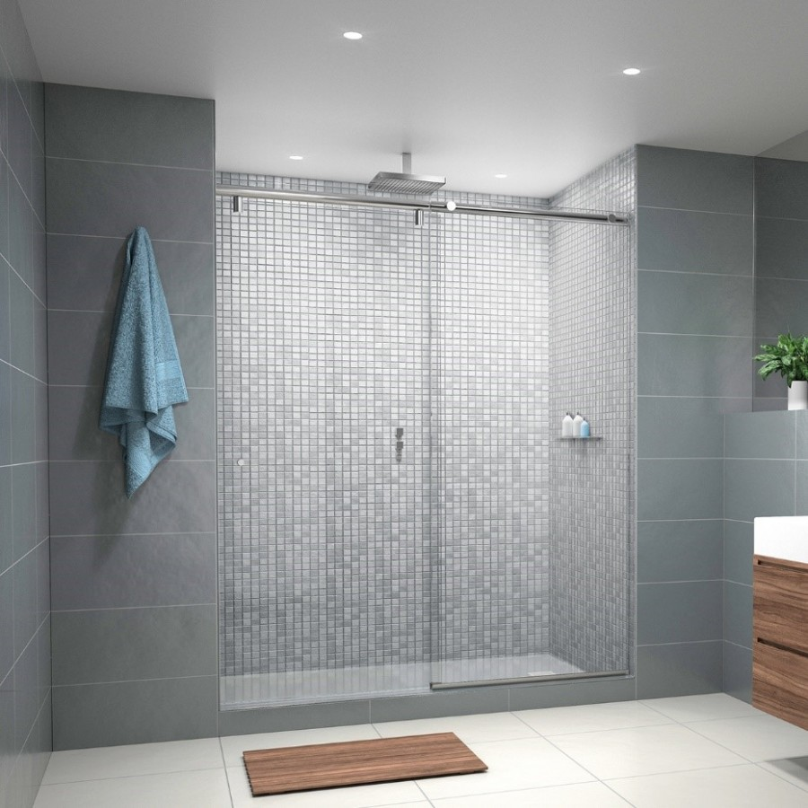 Sliding Shower Door System: Hydroslide